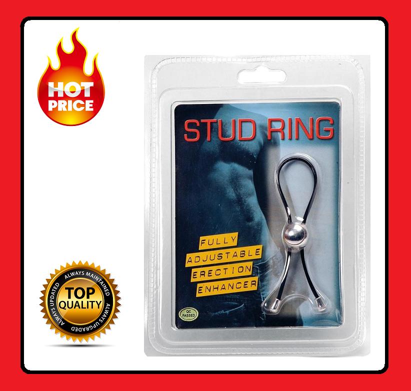 Anello Regolabile Nero Migliora Erezione E Eiaculazione Pene Per Uomo Stud Ring -  - ebay.it