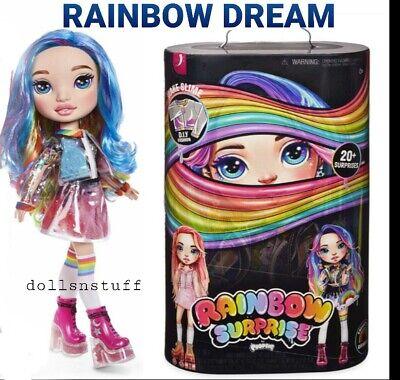 """*SEALED* CONFIRMED Rainbow Dream 14"""" Poopsie Doll 20+ Surprises Slime Toy"""