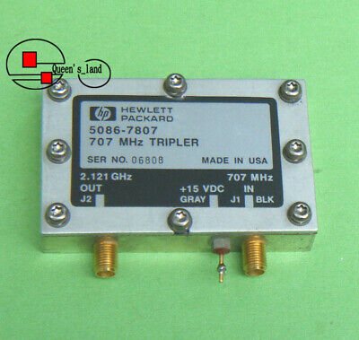 1 Hp 5086-7807 In 707mhz Out 2.121ghz Utg Tripler Frequency Multiplier