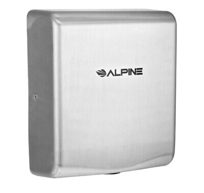 Alpine Industries Willow Stainless Steel High Speed Commercial Hand Dryer