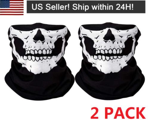 Unisex Bandana Face Mask Washable Scarf Balaclava for Dust Cover UV Protection