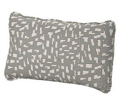 NEW IKEA VALLENTUNA COVER FOR BACK CUSHION - FUNNARP BLACK/BEIGE - 003.297.47