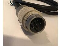 Original Tuchelstecker 12 pol female für Neumann Kabel SM69,fet,SM2,