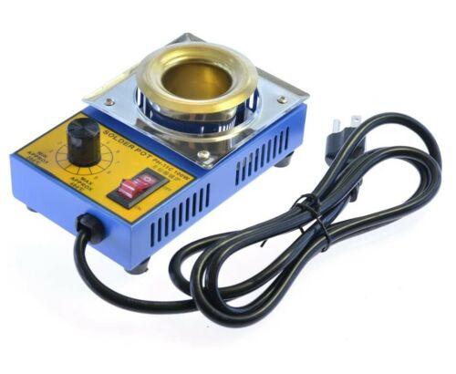 NEW - KLT-360 Solder Pot Titanium Alloy Soldering Melting Tin 38mm AC 110V 100W