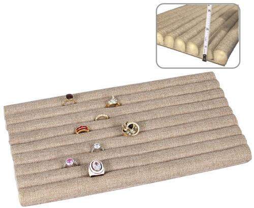 Ring Pad Ring Display Pad for Ring Insert Burlap Ring Tray Liner Drawer Liner