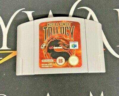 Mortal Kombat Trilogy - Nintendo 64 N64 Game - Cart Only - TESTED/WORKING - PAL