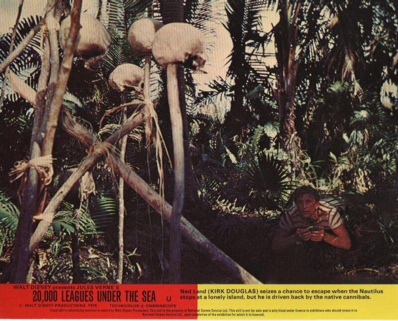 20,000 Leagues Under The Sea lobby card print # 3 - Kirk Douglas