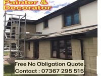 House Painter Painting. Painter and Decorator Available for all exterior and interior work