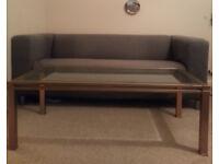Ikea Sofa + free coffee table