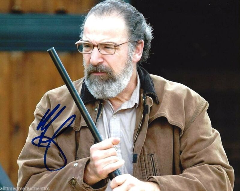 ACTOR MANDY PATINKIN SIGNED HOMELAND 8X10 PHOTO W/COA SAUL BERENSON C