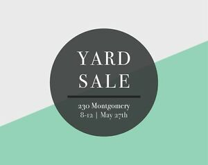 Sunday May 28th Yard Sale | Tons of little boys stuff