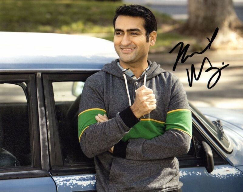 Kumail Nanjiani Silicon Valley Autographed Signed 8x10 Photo COA #3