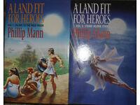 Phillip Mann hardback books