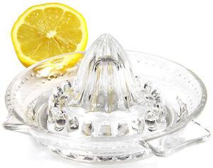 Zitronenpresse aus Glas Zitruspresse Orangenpresse Saftpresse