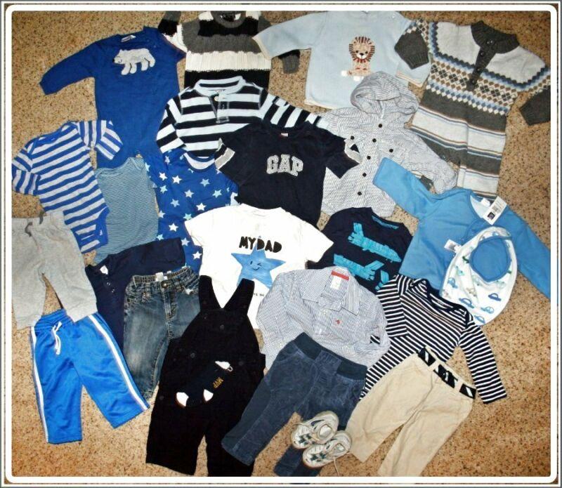 Huge Baby Boys  Lot Zara Gymboree Gap Koala Baby Size 6 12 Months Nike Shoes