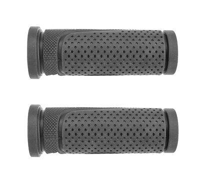 2 x 102mm black grip shift twist grip bar bike cycle handlebar grips