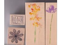 Various Rubber stamps.