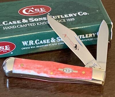 2007 CASE XX RED APPALOOSA 6225 1/2 SMALL COKE BOTTLE POCKET KNIFE