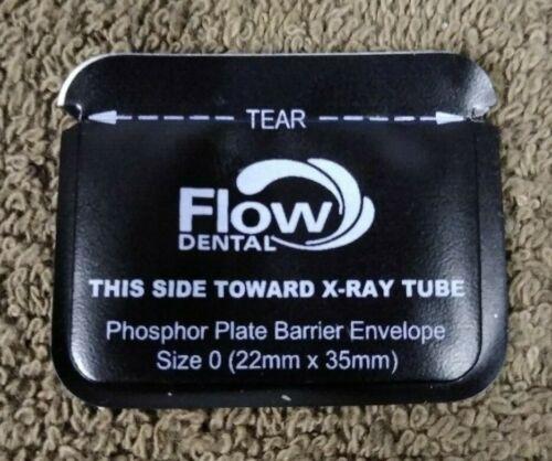 Flow Dental Barrier Sleeves -Phosphor Plates / Size 0 / QTY: 200