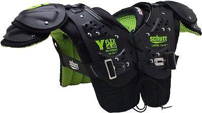 Schutt Y Flex 4.0 All Purpose Youth Football Shoulder Pads, New