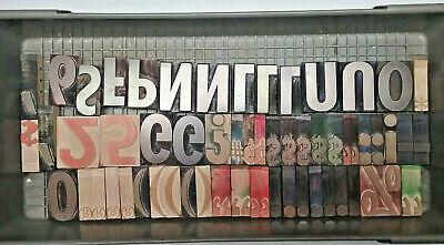 3 Letterpress Wooden Letters Professional Quality Printing Blocks 144 Pcs