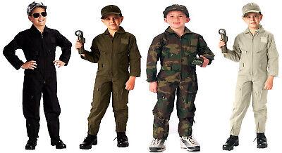 Kinder Flug Anzug Overalls US Air Force Militär - Kinder Flug Anzug