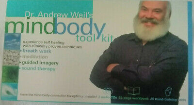 Sounds True Dr. Andrew Weil's Mind Body Tool Kit New Sealed Ships Free