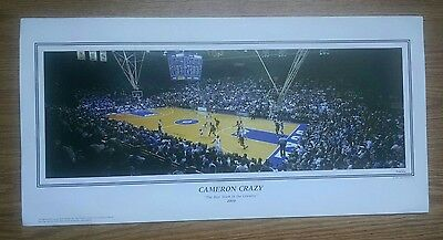 Duke University Blue Devils Cameron Indoor Stadium panoramic -