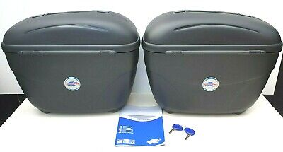 Kappa K21 Motorcycle Luggage Rear Side Panniers Boxes Set 21 Litre Givi Monokey for sale  Shipping to Ireland