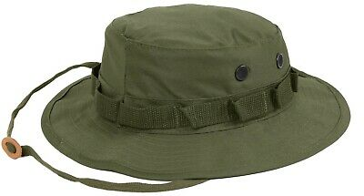 OD Boonie Hat Olive Drab Military Style Sun Jungle Hat Rothco 5811  Boonie Hat Olive