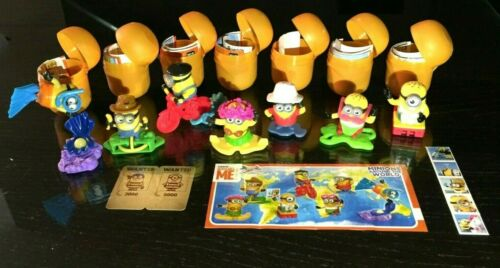 KINDER SURPRISE MINIONS AROUND THE WORLD COMPLETE SET VHTF