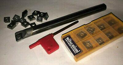 Solid Carbide  Boring Bar 38 Cnc Manual Turning 10 Inserts
