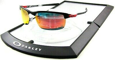 Oakley Carbon Blade OO9174-06 Ferrari Polarized Sunglasses Carbon Fiber Frame 10