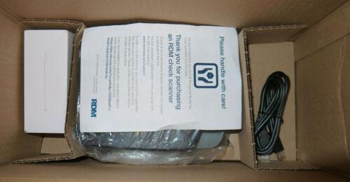 RDM EC7000i Dual-Sided Check Reader EC7011f - Brand New / Open Box