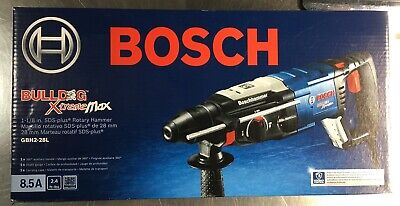 Bosch 8.5 A 1-18 In. Sds-plus Bulldog Xtreme Max Rotary Hammer Gbh228l New