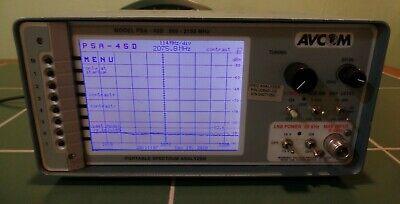 Avcom Psa-45d L-band Satellite Portable Spectrum Analyzer 950-2150 Mhz