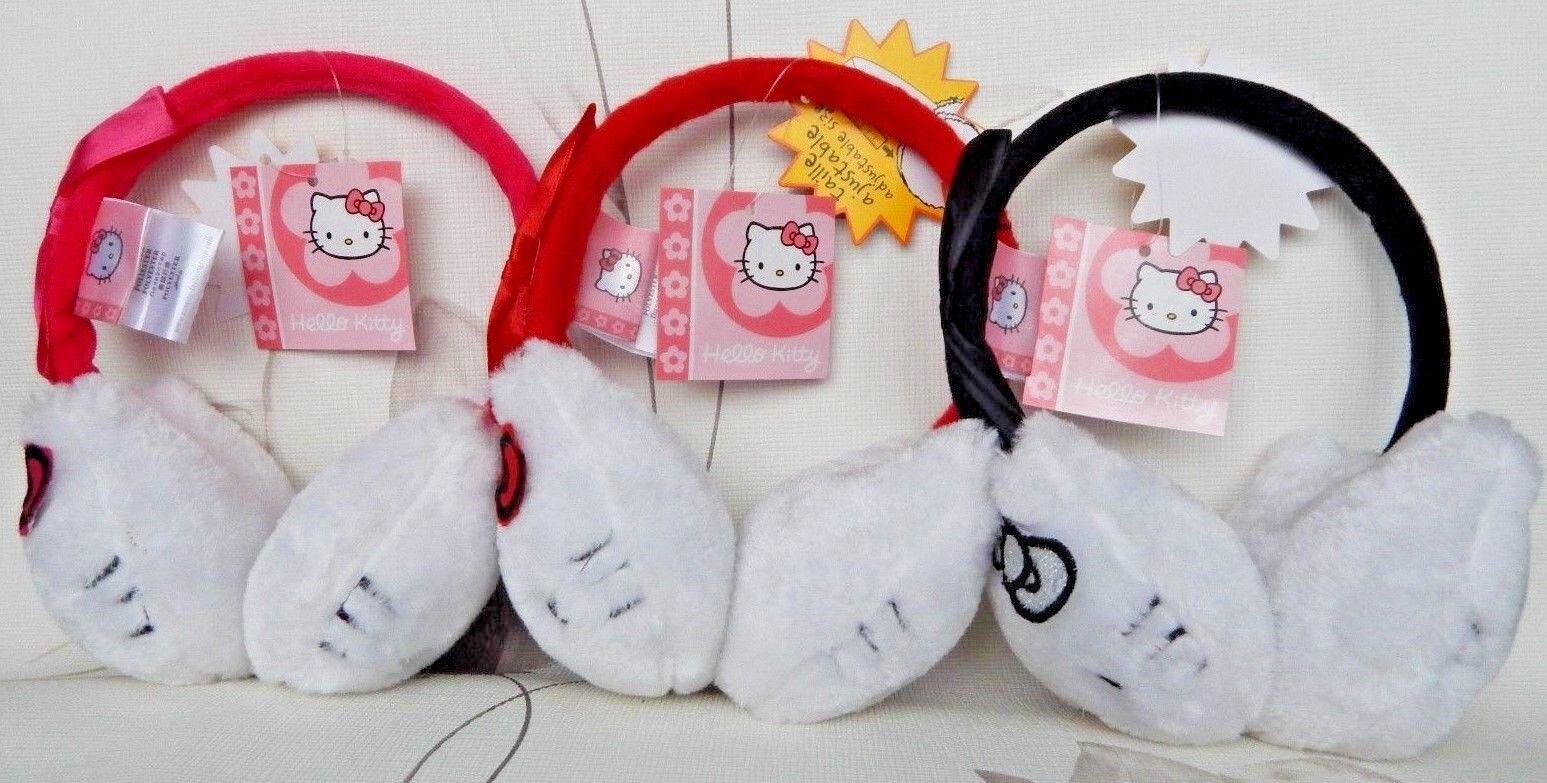Ohrenwärmer Ohrenschützer Ohren-Wärmer Ohren-Schützer Mädchen Hello Kitty