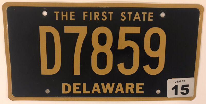 CAR DEALER license plate Ford GMC Chevrolet Dealership Cadillac Plymouth Pontiac
