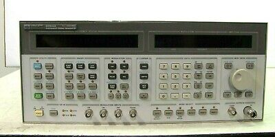 Hp 8664a Synthesized Signal Generator 0.1 - 3000 Mhz Opt 004 008 Good Working