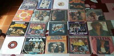 "ABBA AGNETHA.. ** 19X SINGLES 7"" 45 COLLECTION *VINYL PACKAGE / 1ST EU PRESSINGS"