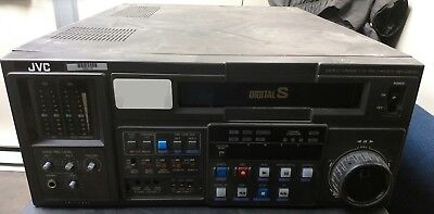 JVC BR-D85U Digital S Recorder w/ 2 Channel PCM Sound TC Generator Recorder VTR for sale  Shipping to India