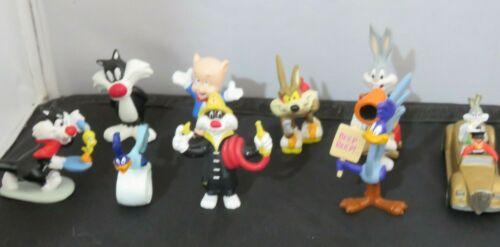 9 1980s-90s Warner Bros Looney Tunes PVC figures