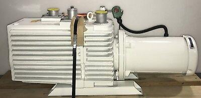 Leybold Trivac D90ac Pfpe Fluid Rotary Vane Mechanical Vacuum Pump Refurbished