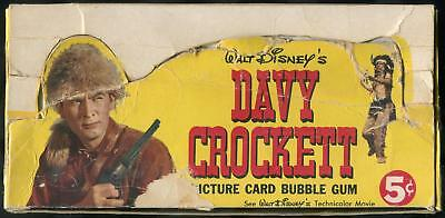 1956 Topps Walt Disney's Davy Crockett 5-Cent Display Box