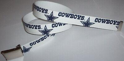 Dallas Cowboys BELT & Buckle Star Logo Pro Football Team Fan Game Gear NFL Shop (Dallas Cowboys Shopping)