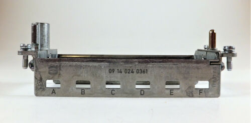 HARTING 09140240361 HINGED FRAME PLUS FOR 6 Modules A-F  New