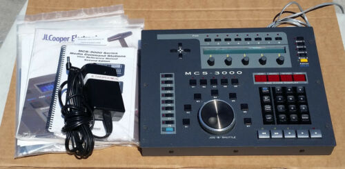 JLCooper Electronics MCS-3000 Media Command Control Machine Remote