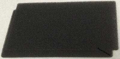 2 x Schwammfilter HX Filter f. Bauknecht  481010354757 Filtermatte Schaumstoff X gebraucht kaufen  Bottrop
