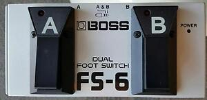 Boss FS-6 dual foot switch pedal Elermore Vale Newcastle Area Preview