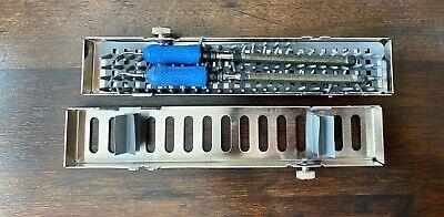 2 Dentsply Slimline Cavitron Inserts 30k 1000 100 Withcassette